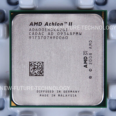 AMD Athlon II X4 600e (AD600EHDK42GI) CPU 667 MHz 2.2 GHz Socket 939 100% Work