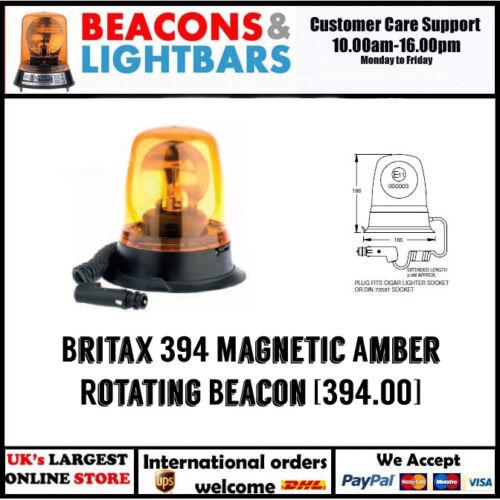 Britax 394 Magnetic 24v Amber Rotating Beacon 394.00.24v