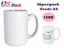 15oz Orca Coating Blank White Mugs Grade Aa For Sublimation Printing