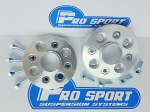 Wheel Spacers 15mm Hubcentric 1 Pair+Bolts Citroen Berlingo Aftermarket Alloys