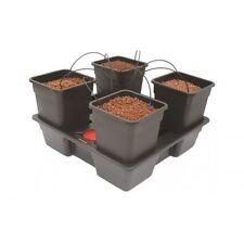 Atami Wilma 4 Pot Complete Dripper System Grow Kit Hydroponics 11ltr pots
