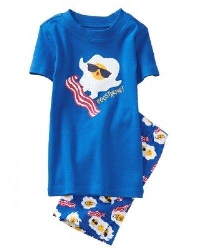 NWT Gymboree Boys Pajamas Set Short Sleeve Top and Shorts