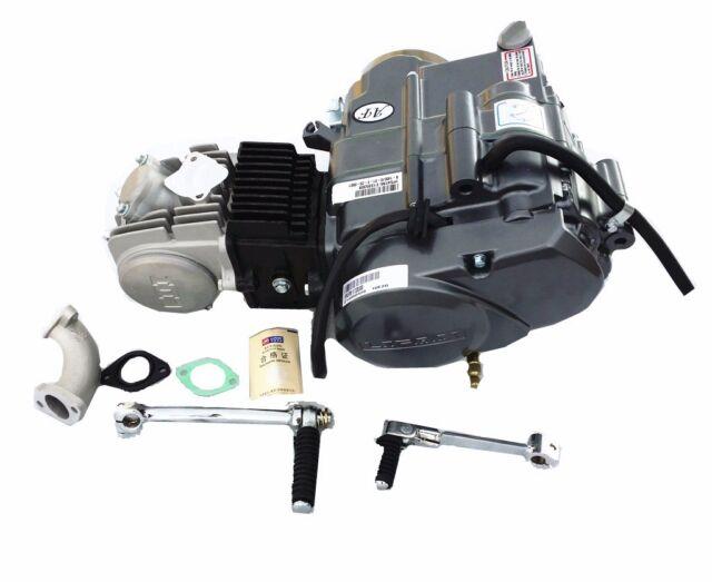 125cc 4 Stroke Manual Clutch Engine Motor Atv Quad Dirt Bike For Rhebay: Crf50 Lifan 125 Wiring Diagram At Gmaili.net