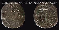 Franche Comté Carolus V Charles Quint Imperator Armes de Besançon. Billon