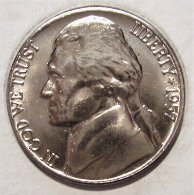 1964 D BU Jefferson Nickel Pulled From OBWRoll