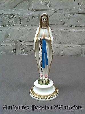 B20140173 - Objet Religieux : Vierge En Résine De 17 Cm - Très Bon état