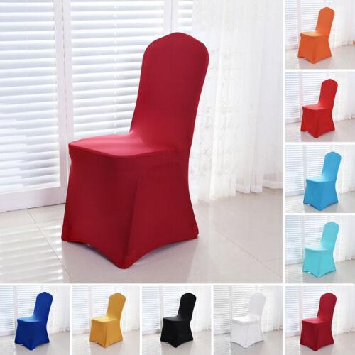 Stuhlhussen Stretch elastano silla referencia Stretch boda fiesta Home Decor 9 color