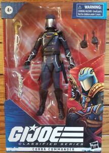 "GI Joe Classified Series Cobra Commander Cobra Action Figure 6"""