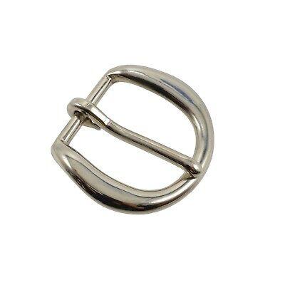 "Perfect Fit Chrome Garrison Belt Buckle Replacement 1.5/"" Duty Work Uniform"