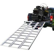 Tri-Panel Aluminum Full-Width Snowmobile Ramp