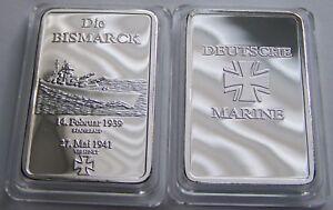 Schlachtschiff Bismarck Schiff Wk Ii Marine 1939 Barren
