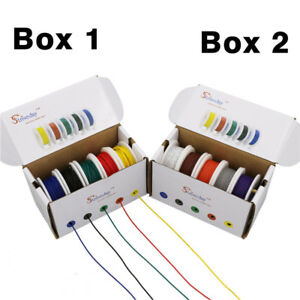 18-20-22-24-26-28AWG-UL-1007-5-colors-Electrical-Wire-Tinned-copper-PCB-Wire-DIY