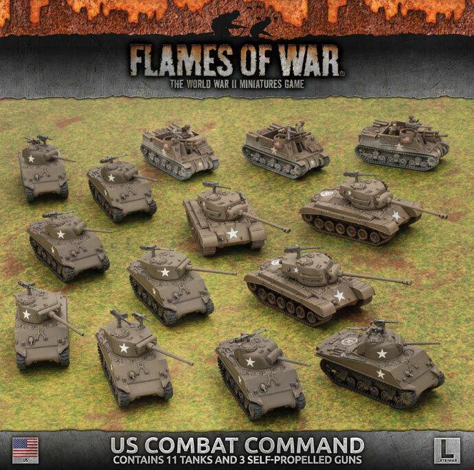 Flames of War-American  comando de combate de Estados Unidos USAB 09