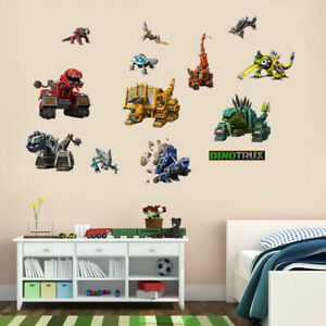 Dinotrux-Dinosaur-Wall-Stickers-Removable-Character-Kids-Cartoon-Decal-Decor-DIY