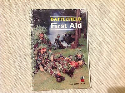UK ARMY BATTLEFIELD FIRST AID MANUAL 1993