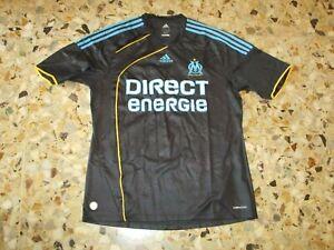 Détails sur Maillot shirt jersey trikot ancien OM MARSEILLE 2009 2010 THIRD EUROPE ADIDAS