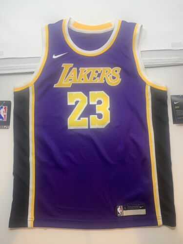 Nike LA Lakers NBA Basketball Jersey-Large 14-16 KIDS ans-Lebron James NEUF