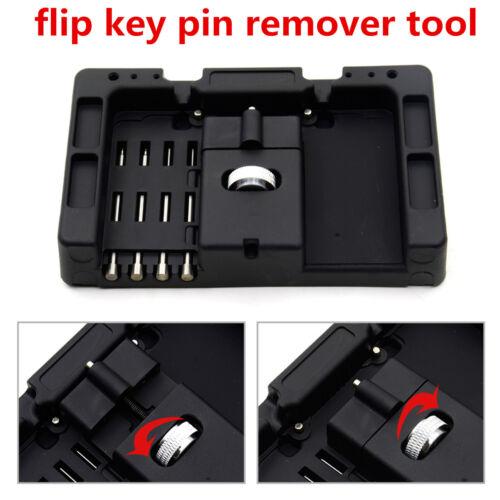 Car Flip Key Vice Fixing Pin Remove Tool For Car Door Key Safety Repair The Key