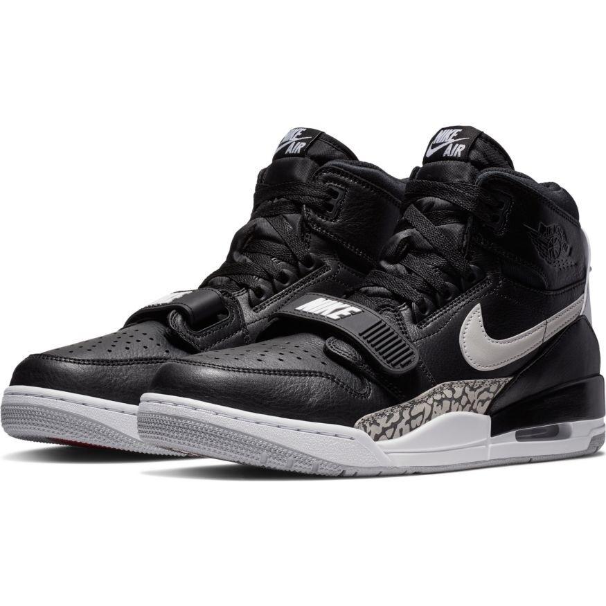 Nike Air Jordan Legacy 312 Black Leather Trainers UK 10 BNIB & UNUSED