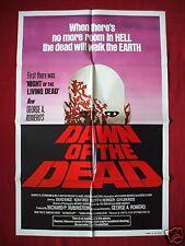 DAWN OF THE DEAD *1978 ORIGINAL MOVIE POSTER GEORGE ROMERO ZOMBIE HALLOWEEN NM-M