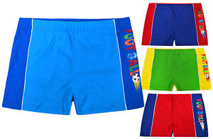 Boys-New-Swimming-Boxers-Shorts-Kids-Swimwear-Children-Sports-Surf-Trunks-3-13-Y