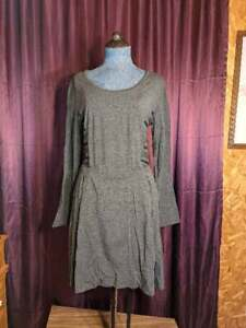 NEW EcoSkin Gray Dress Women Junior M NWT Closet131*