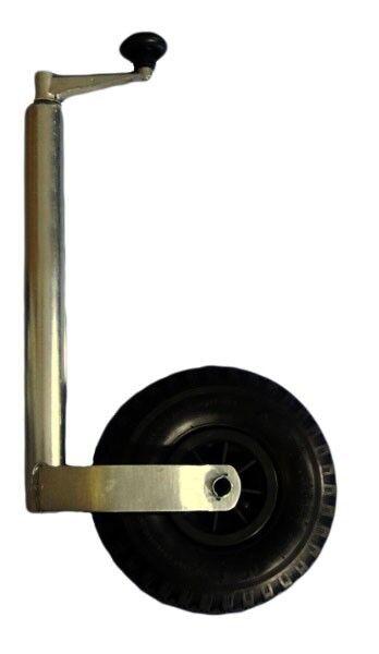 Trailer Stützrad cm 43-70 cm Stützrad luftbefüllt Stiefeltrailer 6871 6b3396