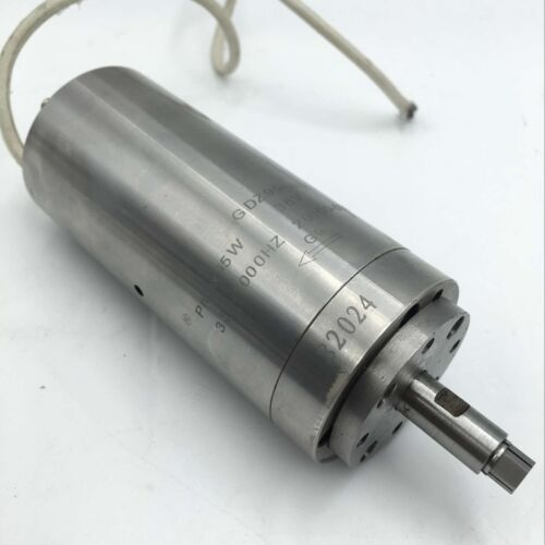 95W Spindle Motor 60000rpm Natural-Cooled D48mm 2Bearings AC36V DIY Router Mill