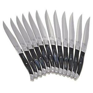 Wolfgang Puck 12-piece Steak Knife Set with Wooden Gift Boxes Model 676-162