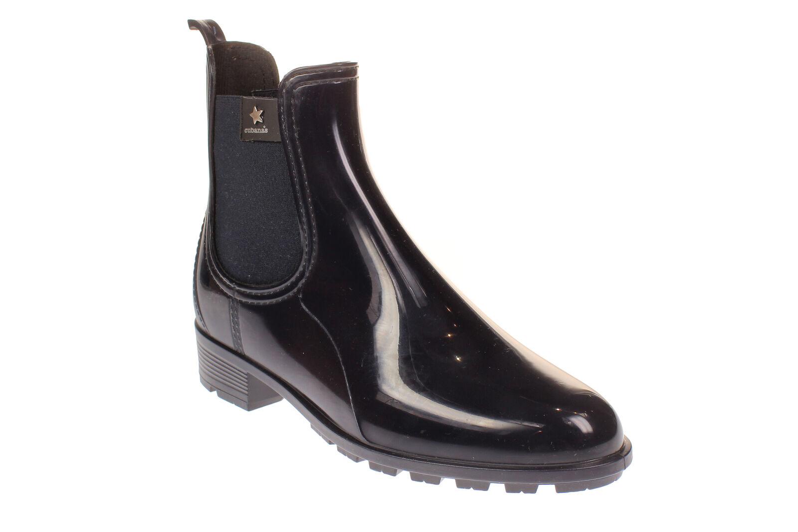 Presidente lluviosos-631 - señoras zapatos botas - azul