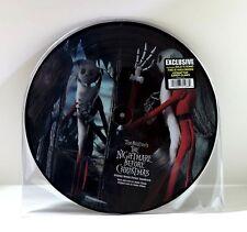 DANNY ELFMAN Tim Burton NIGHTMARE BEFORE CHRISTMAS Picture Disc VINYL 2LP Disney