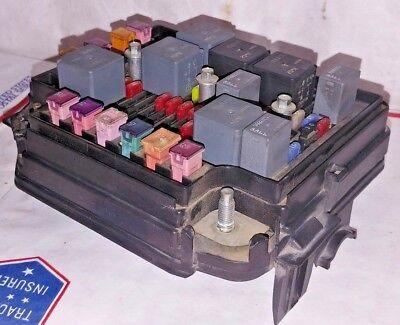03 04 05 06 07 SATURN ION FUSE BOX UNDER HOOD ENGINE JUNCTION RELAY  22625098 | eBay