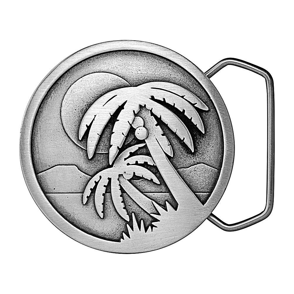 Palm Tree Islands Belt Buckle 04-C95 IMC-Retail
