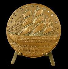 Médaille navigateur mathématicien, physicien Jean-Charles de Borda Dax  Medal