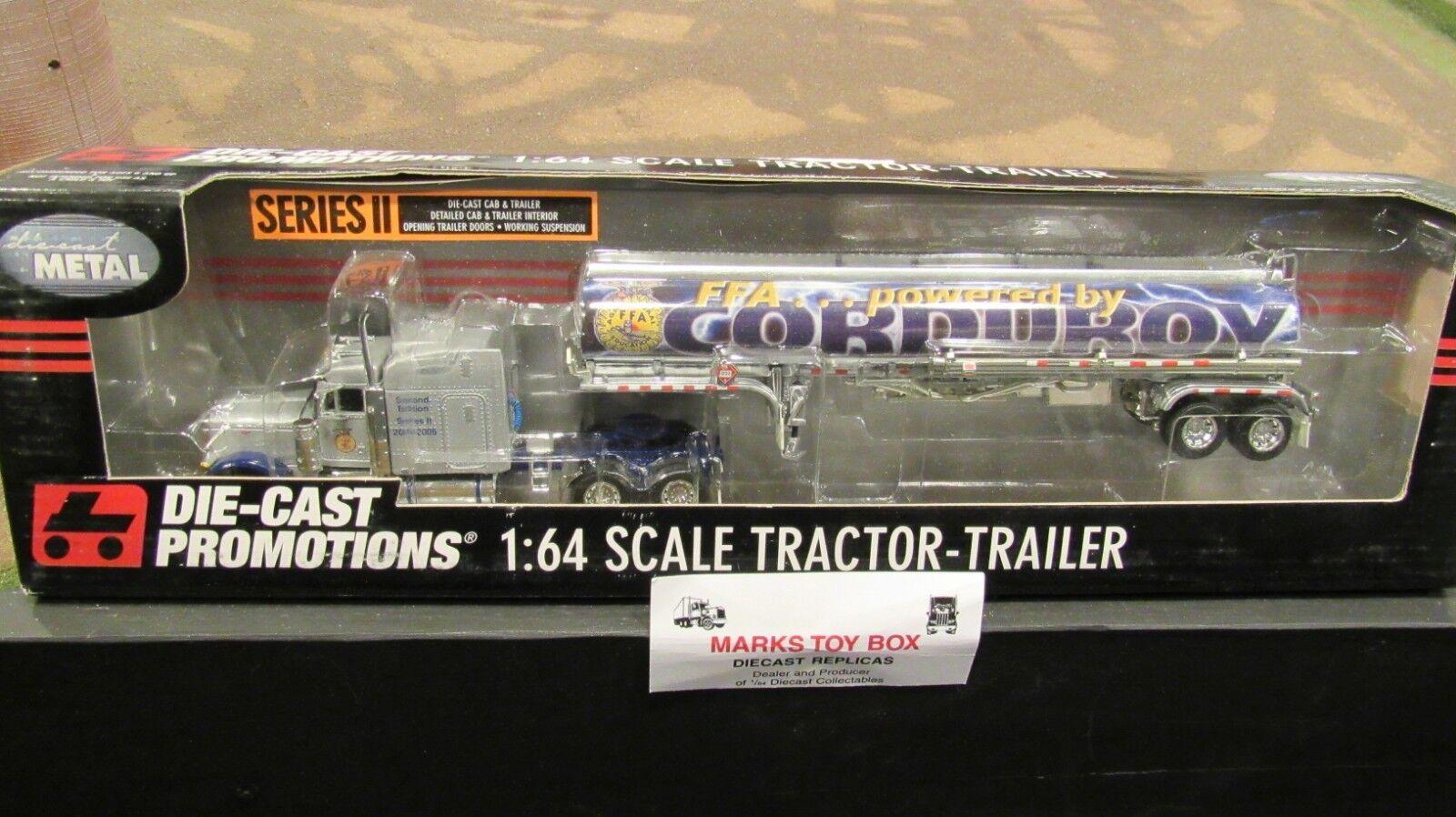 ¡envío gratis! DCP 30686 2005 FFA Pana Pete 379 Semi Semi Semi Camión Remolque tanque de productos químicos 1 64 CL  descuento de bajo precio