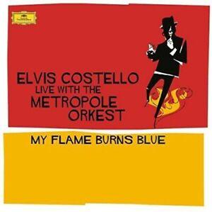 Elvis-Costello-My-Flame-Burns-Blue-New-Vinyl-LP