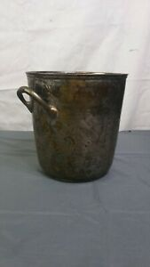 Vintage Metal Canister - Made In India