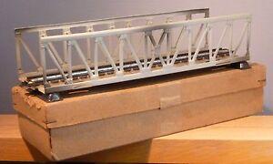 Marklin-HO-7162-ex-466-Pont-treillis-droit-Voie-Metallique-d-039-occasion