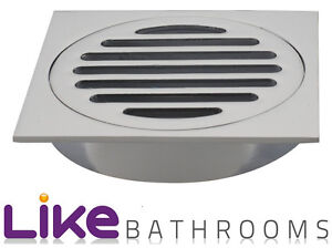 Big-Sale-Half-Price-Quality-Square-Design-Bathroom-Floor-Waste-MD013