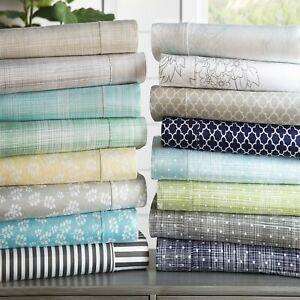 5-Designs-Premium-Ultra-Soft-4-Piece-Bed-Sheet-Sets-Extra-Deep-Pocket