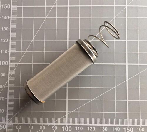 Sytec Mini Bullet Inox 30 µ di ricambio elemento filtrante sbfa 001