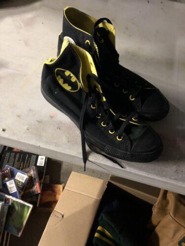 Converse All Star Chuck Taylor Batman Logo Mens Si