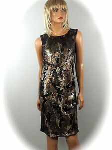 MARCCAIN-COLLECTIONS-Robe-Paillettes-Carmouflage-n3-38-n4-40-n5-42-NEUF
