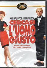 CERCASI L'UOMO GIUSTO - DVD (NUOVO SIGILLATO) JOHN MALKOVICH