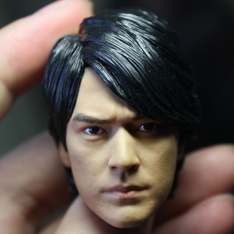 HOT FIGURE TOYS 1 6 HEADSCULPT Takeshi Kaneshiro HEADPLAY Long hair