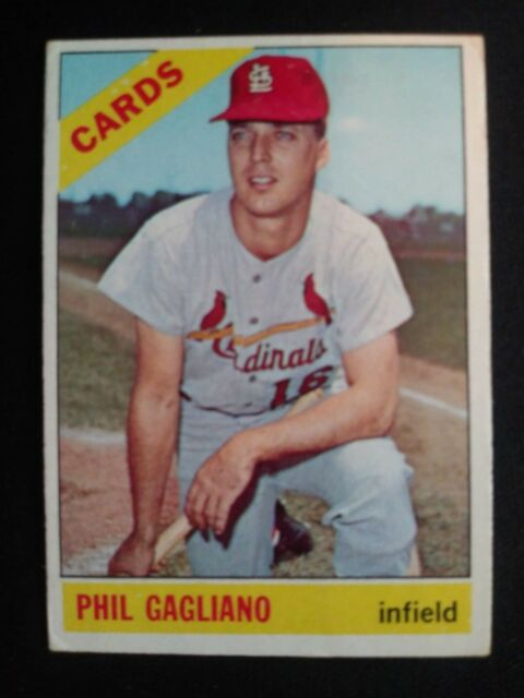 1966 Topps Baseball Card # 418 Phil Gagliano - St. Louis Cardinals