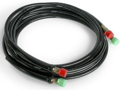 HO5718 pair SeaStar Solutions O//B Pro Hydraulic Steering Hose Kit 18/'