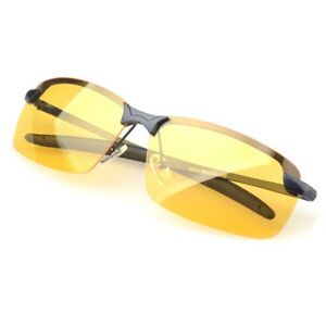 94e9a75c97 Image is loading Anti-Glare-TAC-Men-Driving-Yellow-Lens-Sunglasses-
