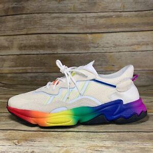 Men's Adidas Ozweego Pride Off White