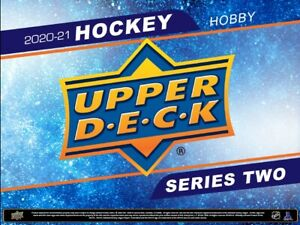 Team Random Break 001 - 2020-21 Upper Deck Series 2: 2 Hobby Boxes.